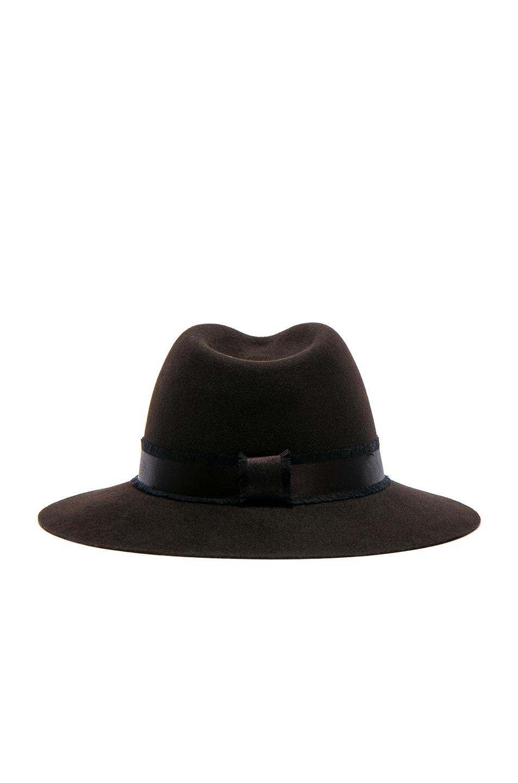 Maison michel rico hat in black modesens for Maison michel