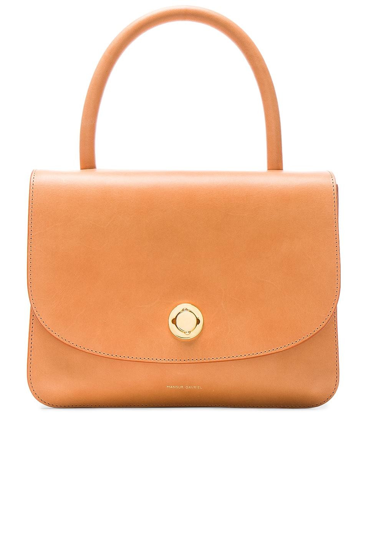 Image 1 of Mansur Gavriel Metropolitan Bag in Cammello Vegetable Tanned