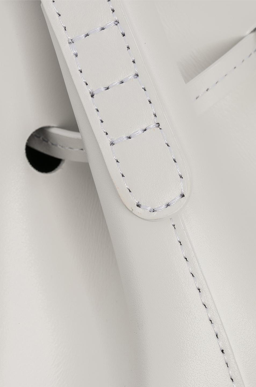 Image 8 of Mansur Gavriel Mini Bucket Bag in Blu Calf & White