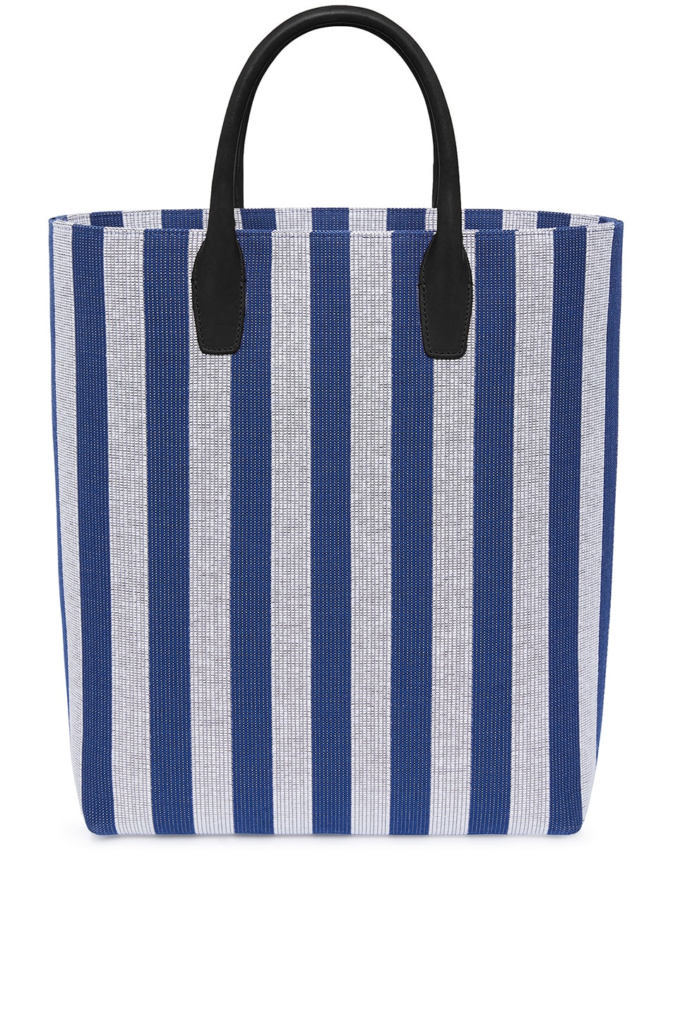 Image 1 of Mansur Gavriel North South Tote in Blu White