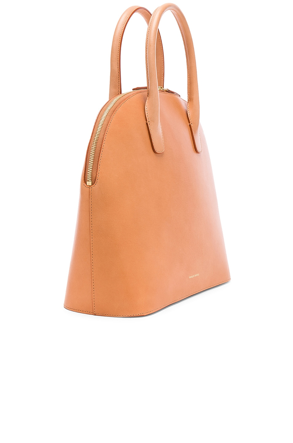 885d14a0bf0 Image 4 of Mansur Gavriel Top Handle Rounded Bag in Cammello   Rosa