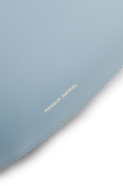 Image 7 of Mansur Gavriel Ocean Tote in Grey Blue