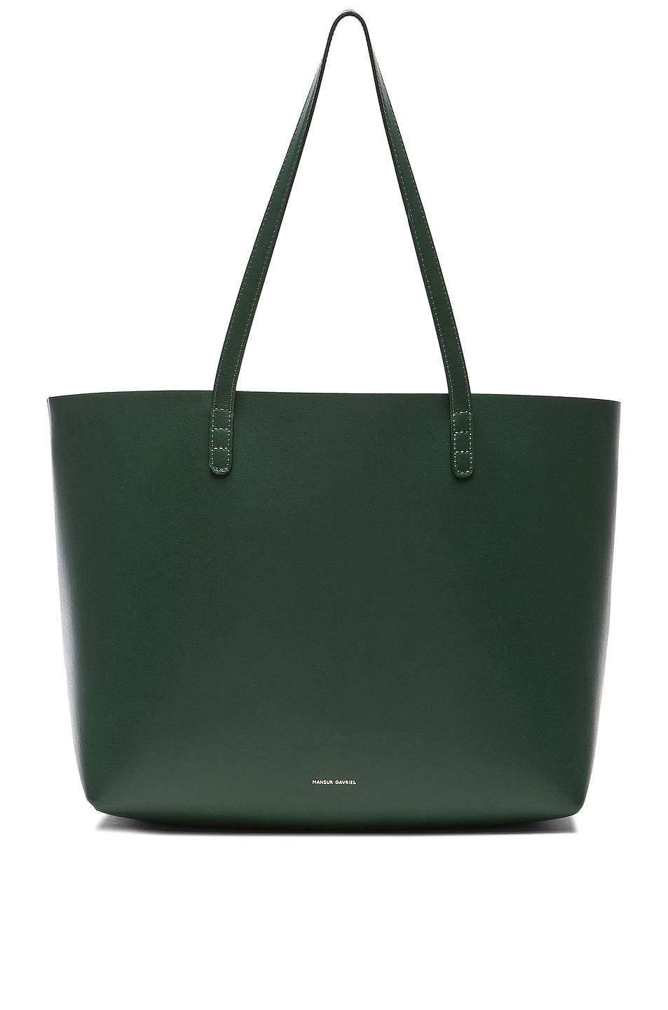 Image 1 of Mansur Gavriel Large Tote in Moss