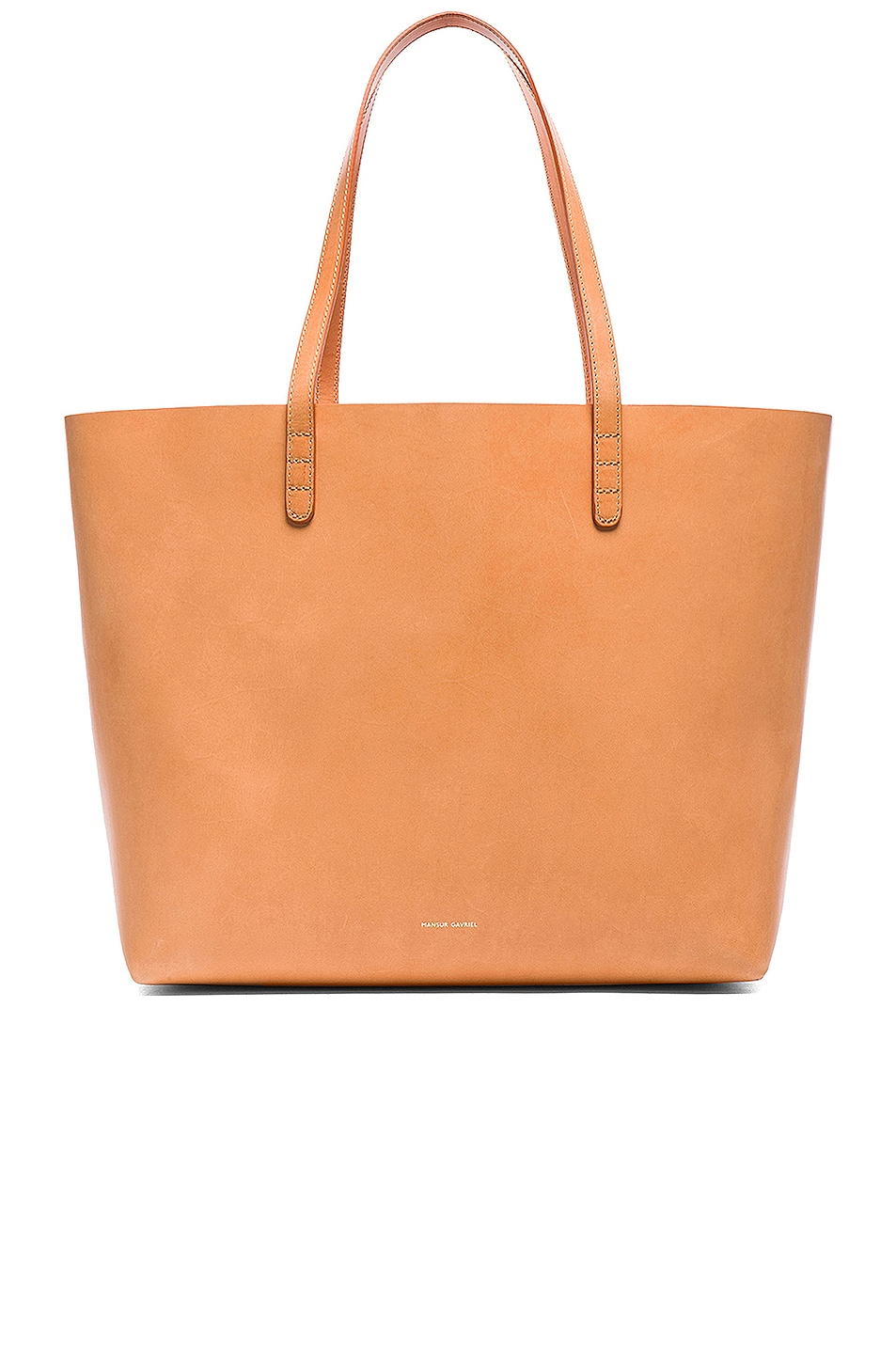 Image 1 of Mansur Gavriel Large Tote in Cammello & Rosa