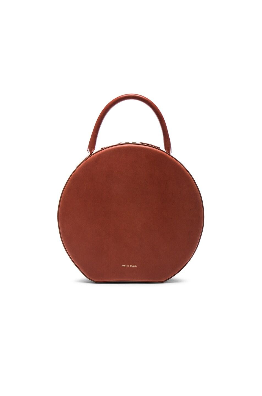 Image 1 of Mansur Gavriel Circle Bag in Brandy