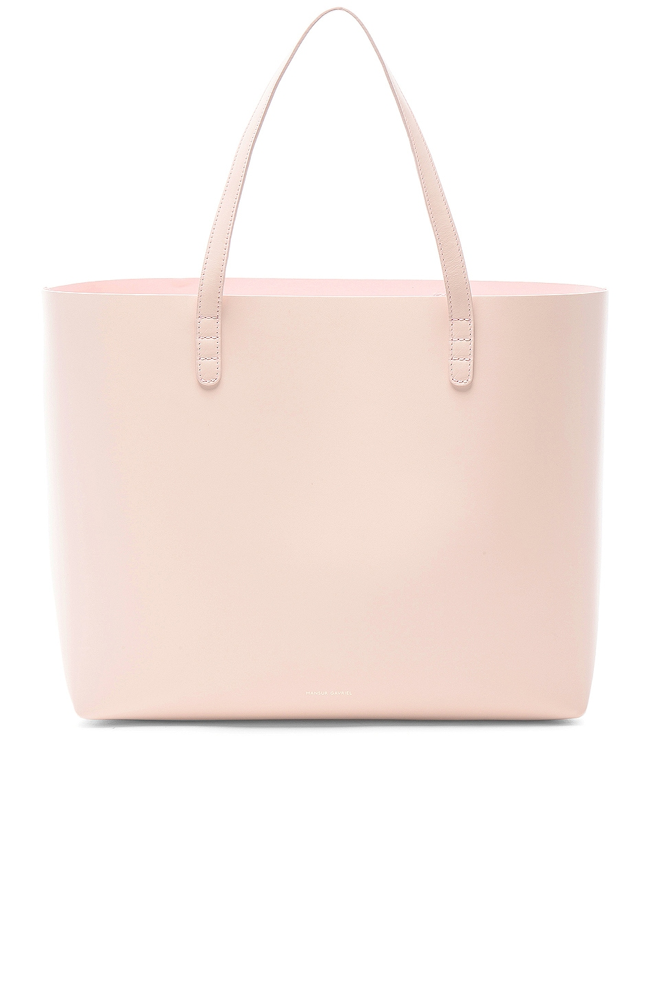 Image 1 of Mansur Gavriel Large Tote in Rosa
