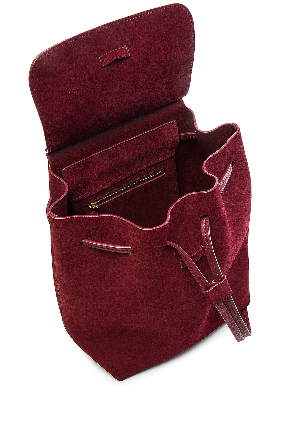 Image 5 of Mansur Gavriel Mini Backpack in Rococo Suede