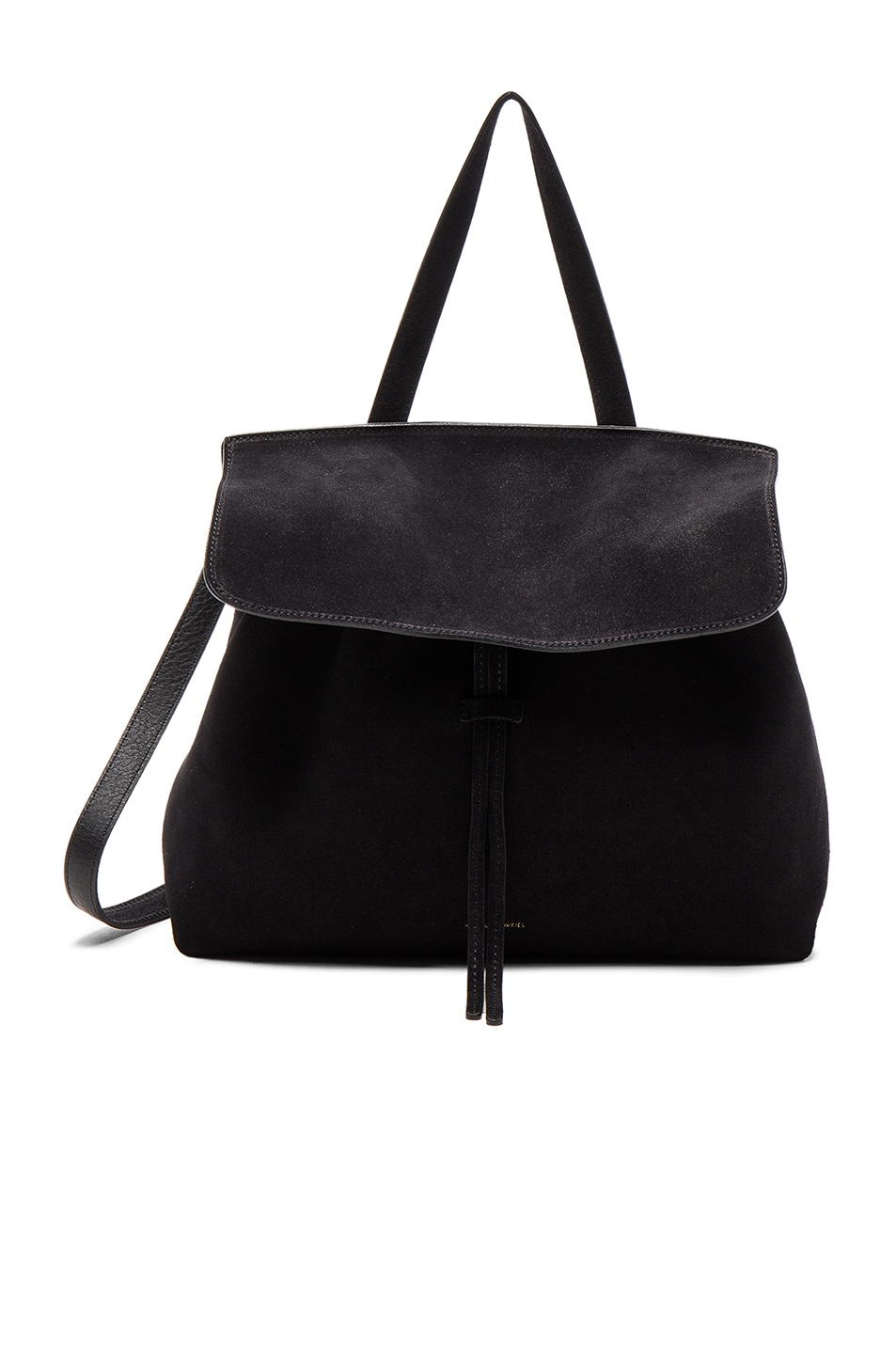Image 1 of Mansur Gavriel Lady Bag in Black Suede