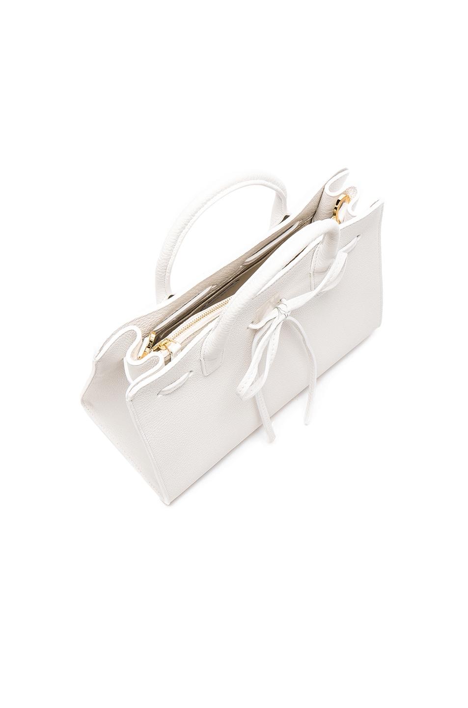 Image 5 of Mansur Gavriel Mini Sun Bag in White Tumble