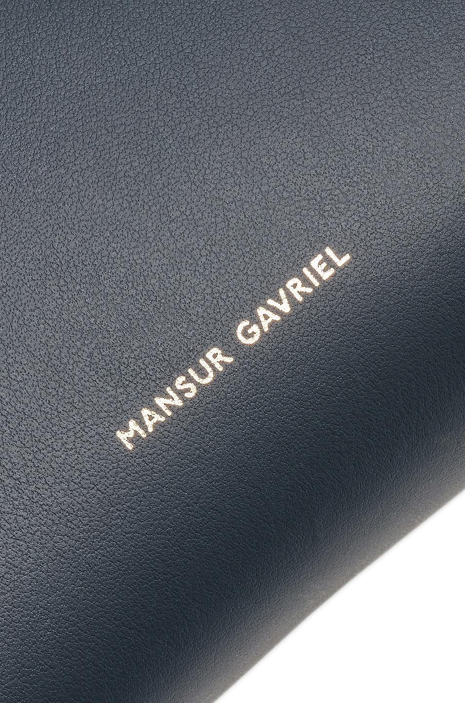 Image 7 of Mansur Gavriel Mini Bucket Bag in Blu Calf