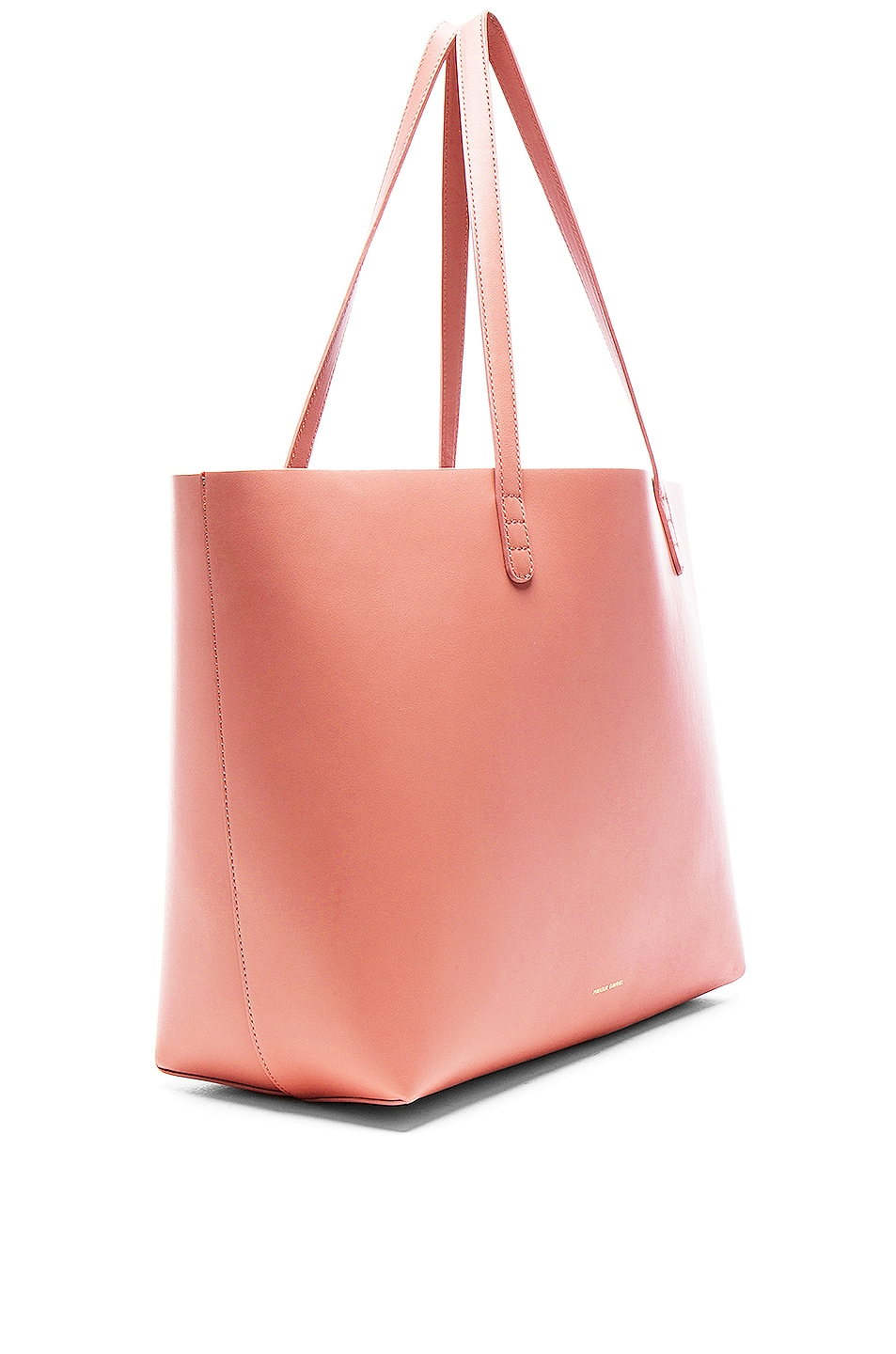 Image 4 of Mansur Gavriel Large Tote in Blush Calf