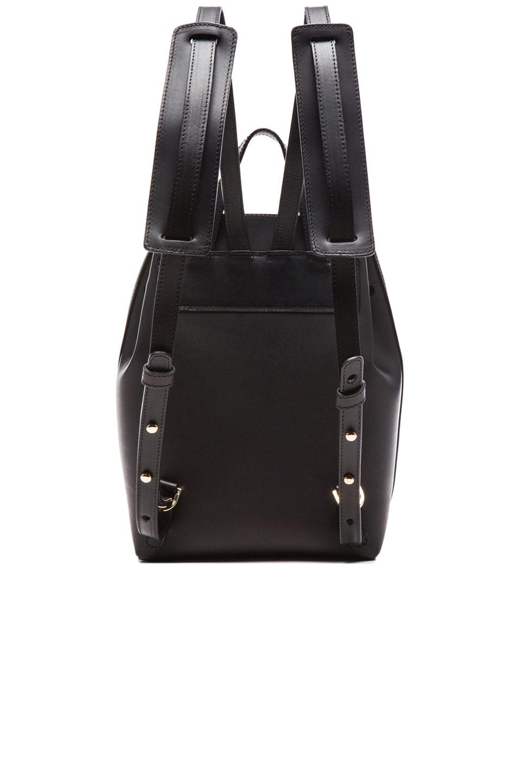 Image 2 of Mansur Gavriel Coated Mini Backpack in Black