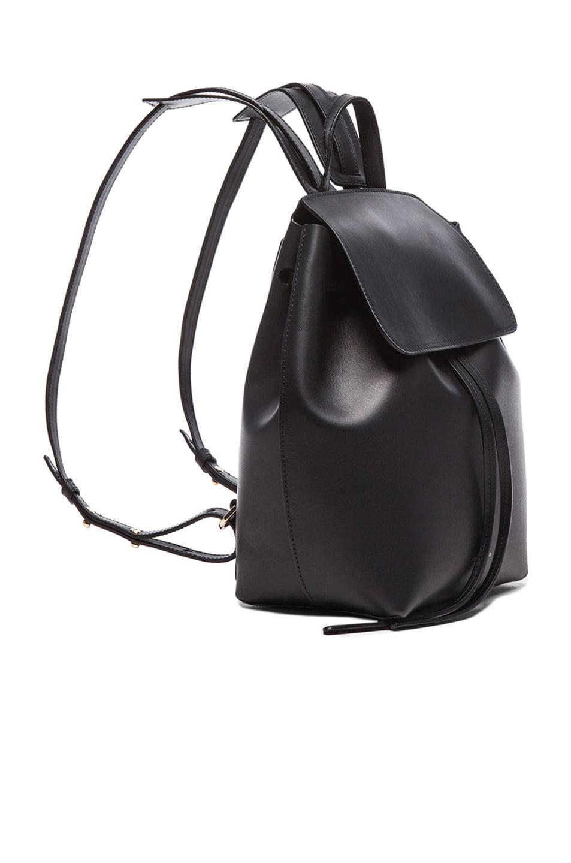 Image 3 of Mansur Gavriel Coated Mini Backpack in Black