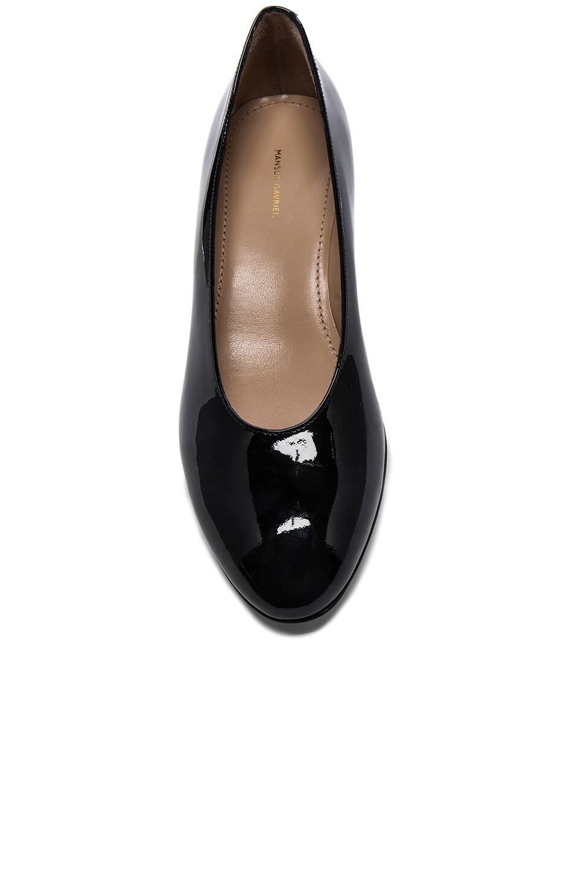 65d4d2578802 Image 4 of Mansur Gavriel Patent Leather Ballerina Pumps in Black