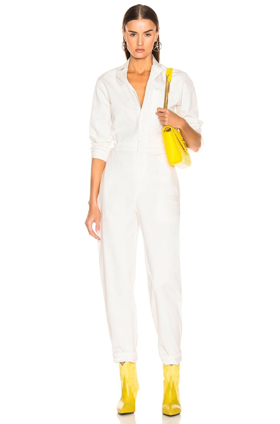 Image 1 of Miaou Romy Jumpsuit in White