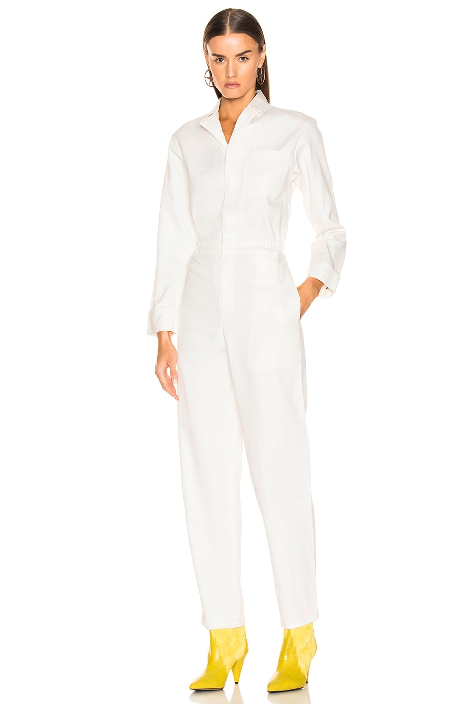 Image 2 of Miaou Romy Jumpsuit in White
