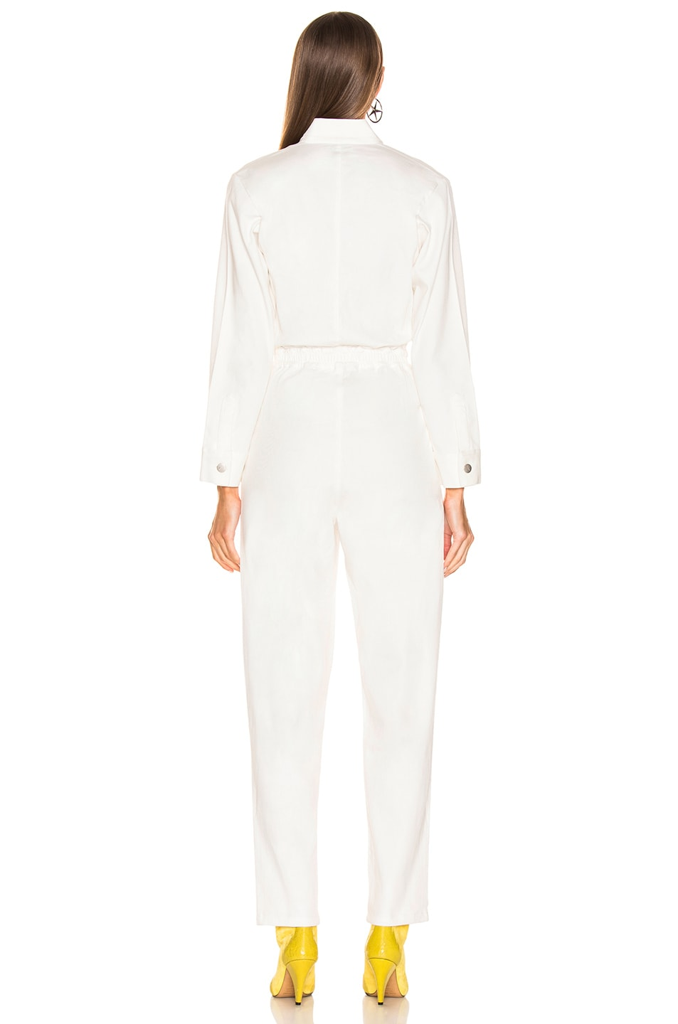 Image 4 of Miaou Romy Jumpsuit in White