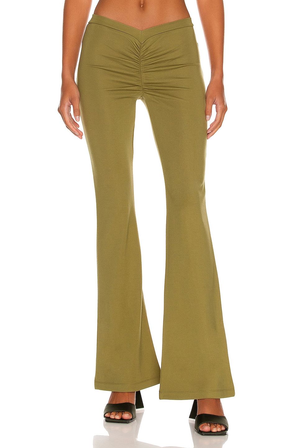 Image 1 of Miaou Elvis Pant in Olive