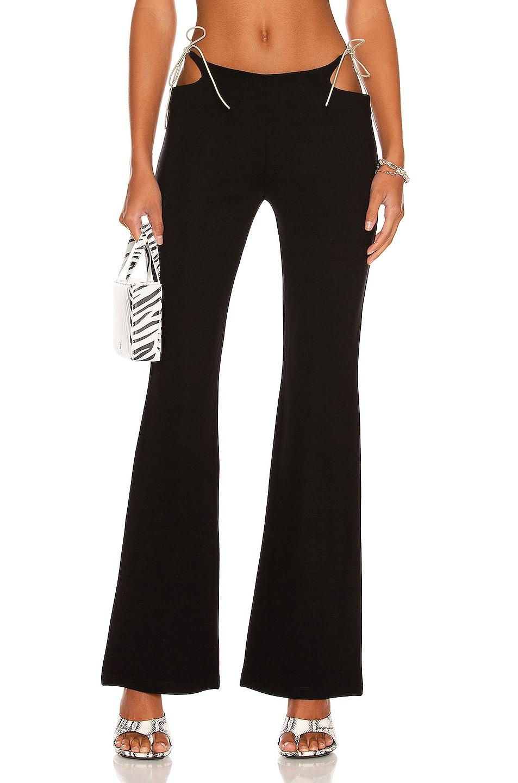 Image 1 of Miaou Iris Pants in Black