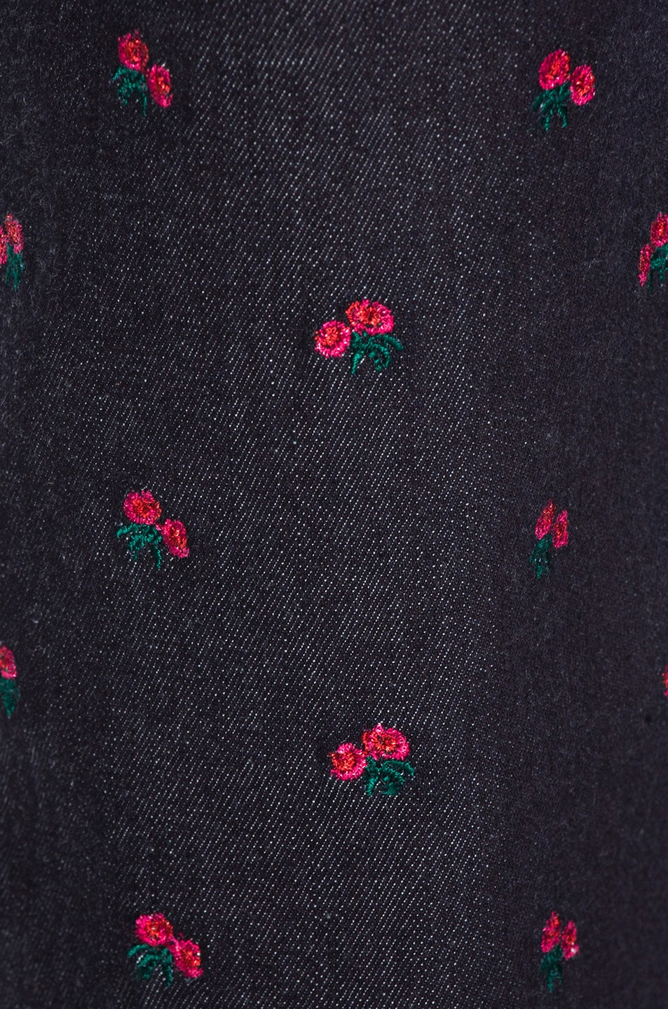 Image 5 of Miaou Junior Pant in Rose Embroidery