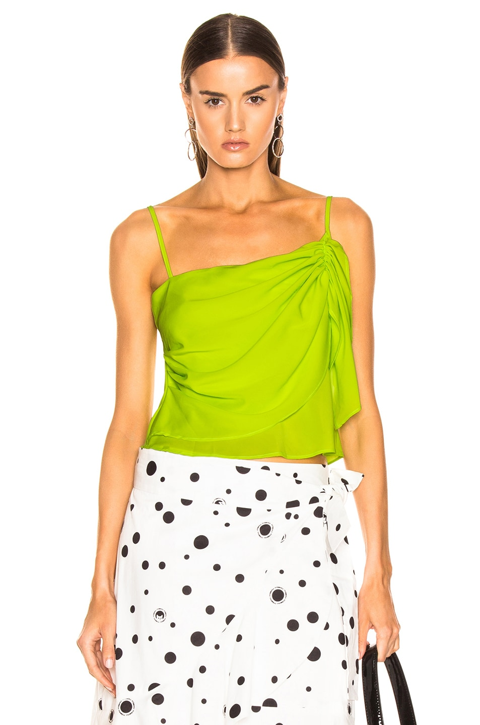 Image 1 of Miaou Sonia Top in Acid Green
