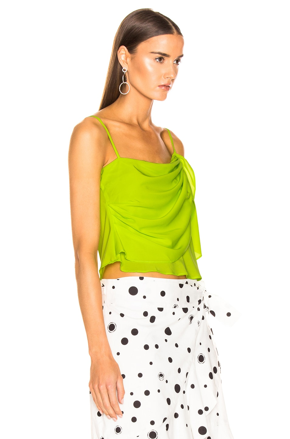 Image 2 of Miaou Sonia Top in Acid Green