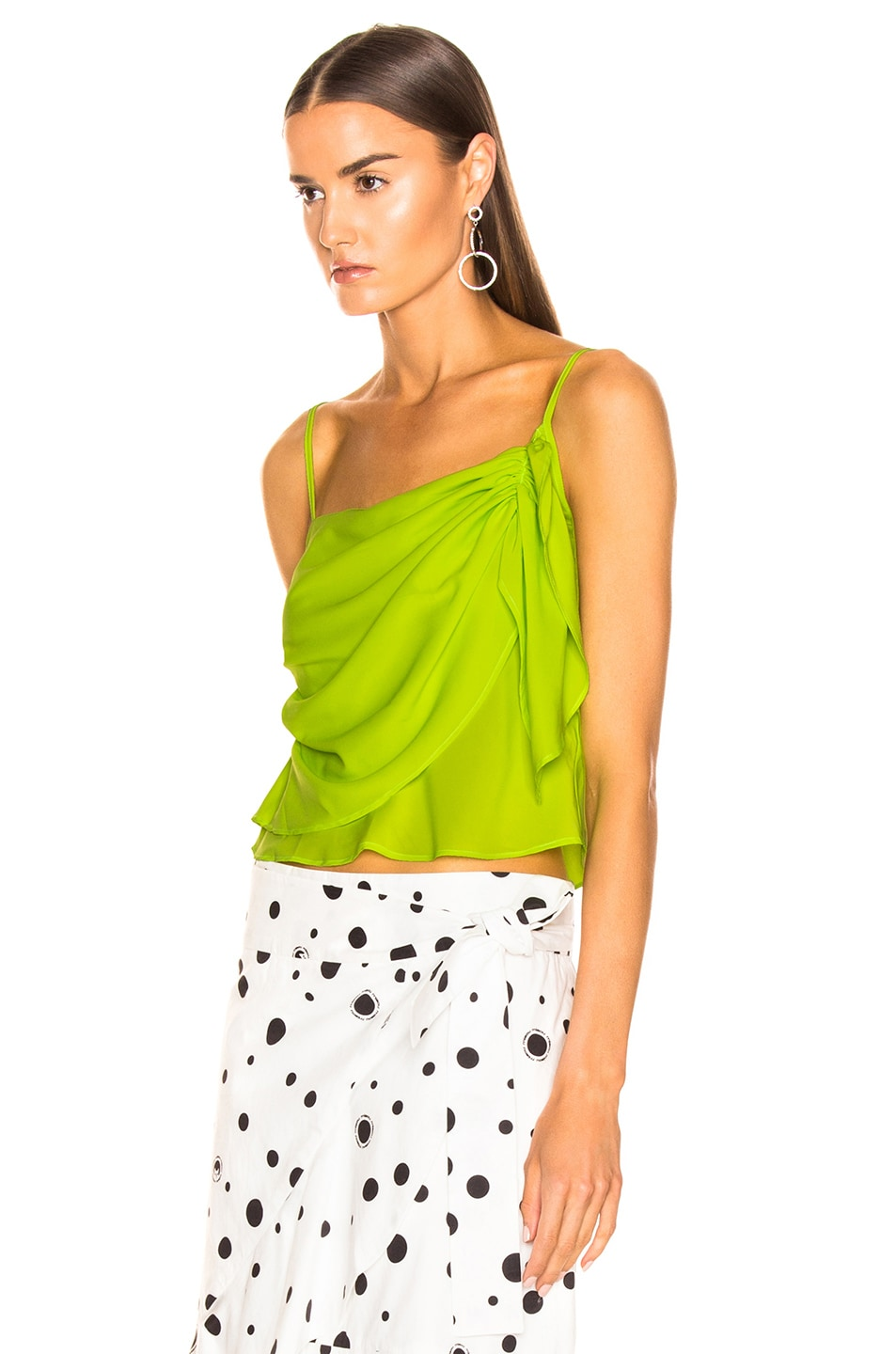 Image 3 of Miaou Sonia Top in Acid Green