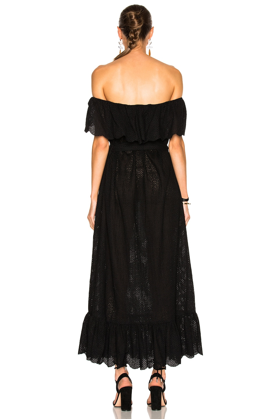 Image 4 of Marysia Swim Off Shoulder Dress in Black