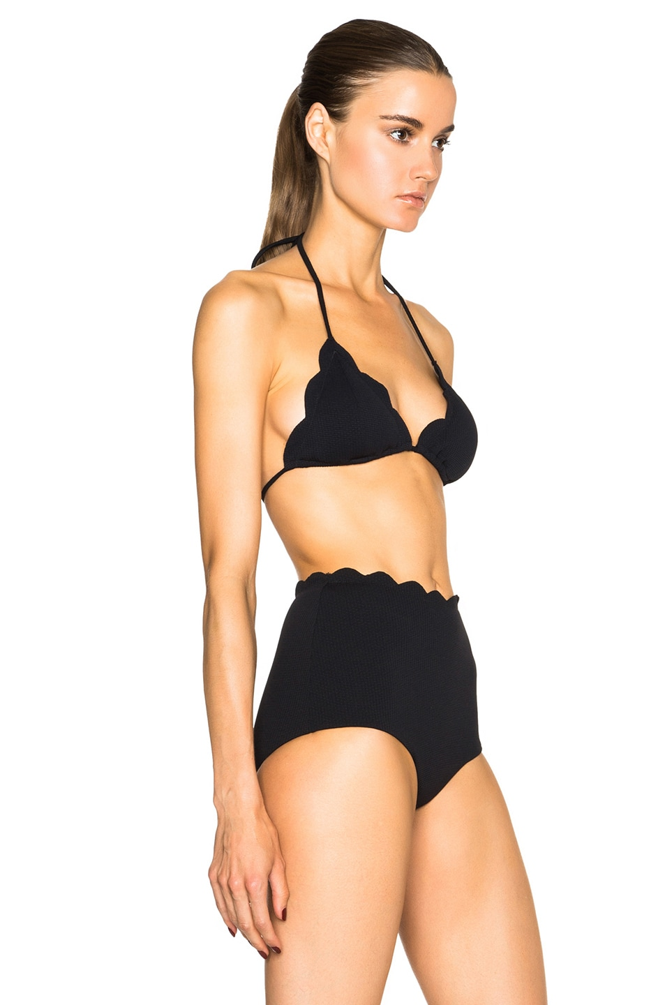Image 3 of Marysia Swim Broadway Bikini Top in Black