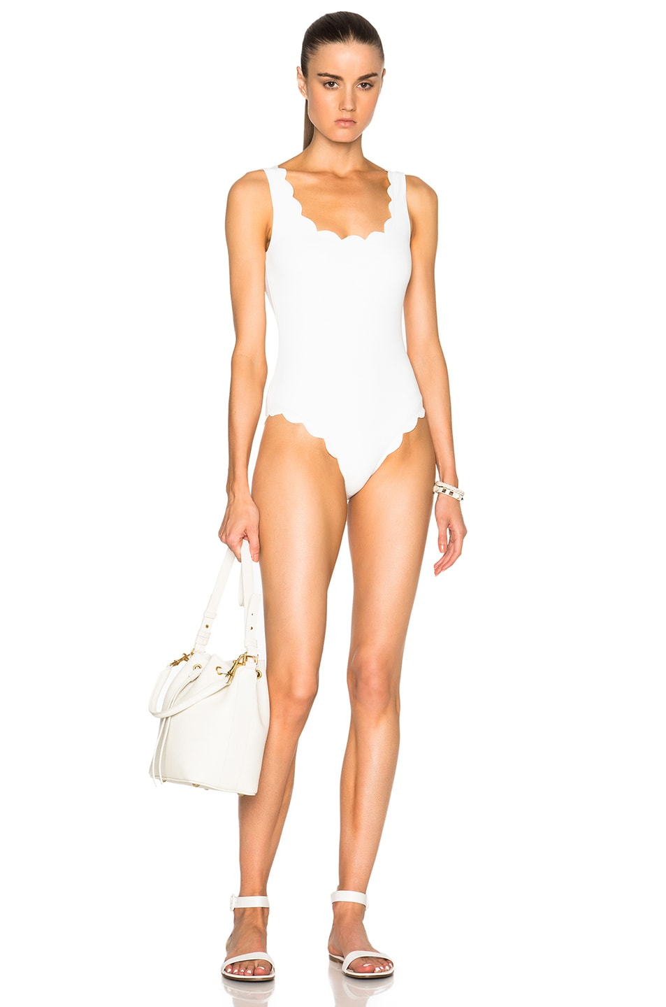 Image 1 of Marysia Swim Palm Springs Swimsuit in Coconut