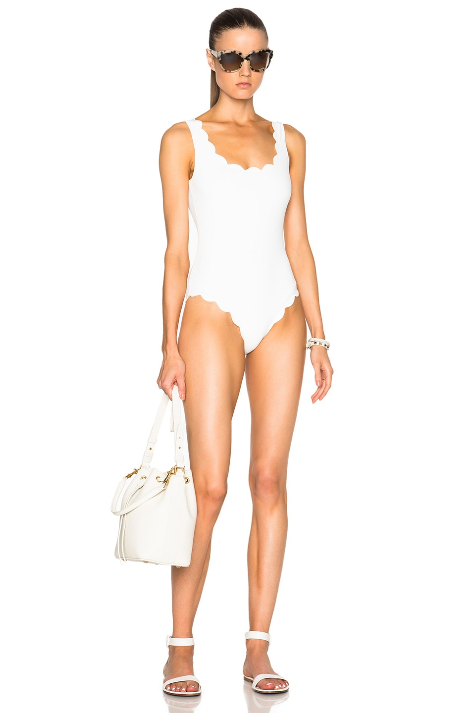 Image 5 of Marysia Swim Palm Springs Swimsuit in Coconut