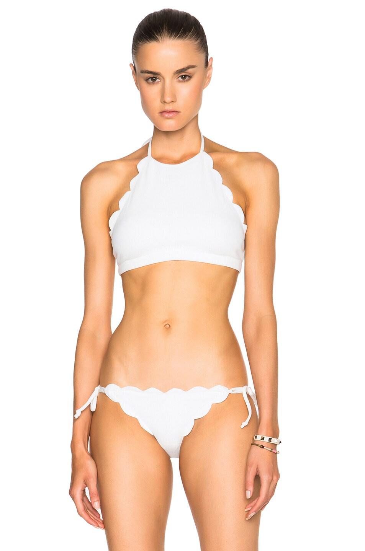 Image 1 of Marysia Swim Mott Bikini Top in Coconut
