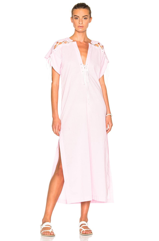 Image 1 of Marysia Swim FWRD Exclusive Caftan Dress in Pale Pink