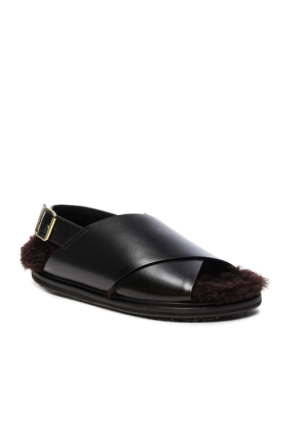 outlet discount authentic Marni Patent Leather Crossover Sandals cheap sale outlet store official site sale online lowest price online sale new kDmD8h