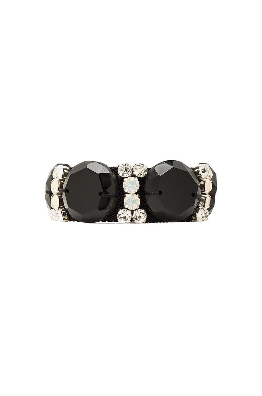 Image 1 of Marni Crystal Bracelet in Black