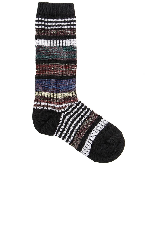 Image 1 of Marni Striped Socks in Multi