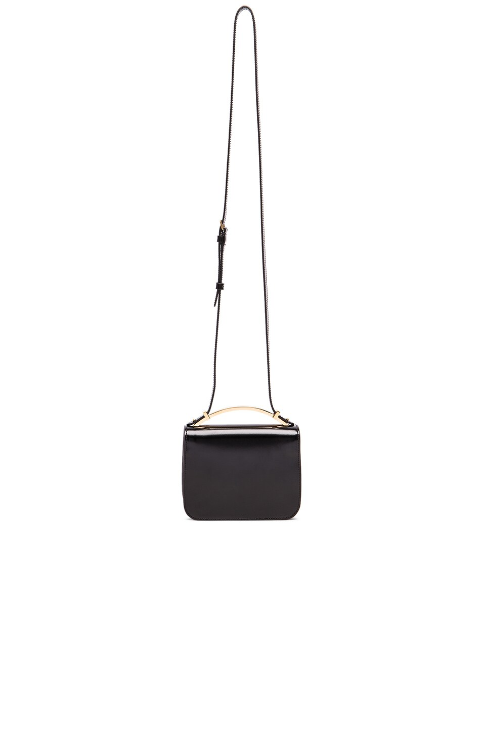 Image 1 of Marni Handle Shoulder Bag in Coal