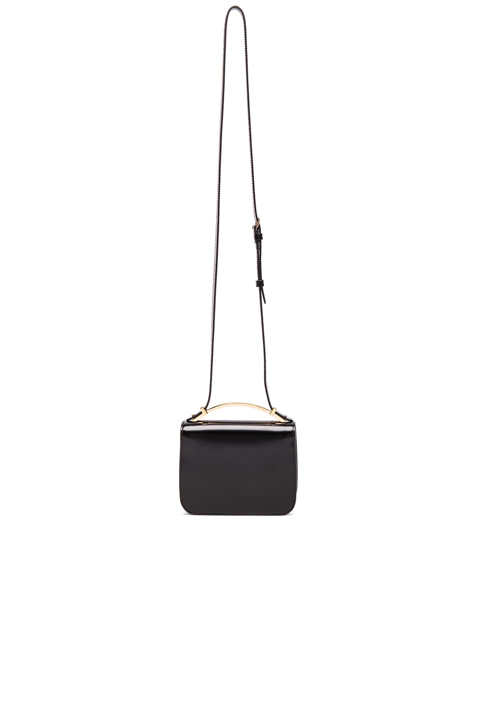 Image 2 of Marni Handle Shoulder Bag in Coal