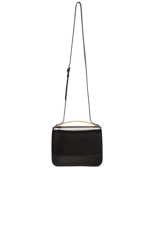 Image 1 of Marni Large Shoulder Bag in Black