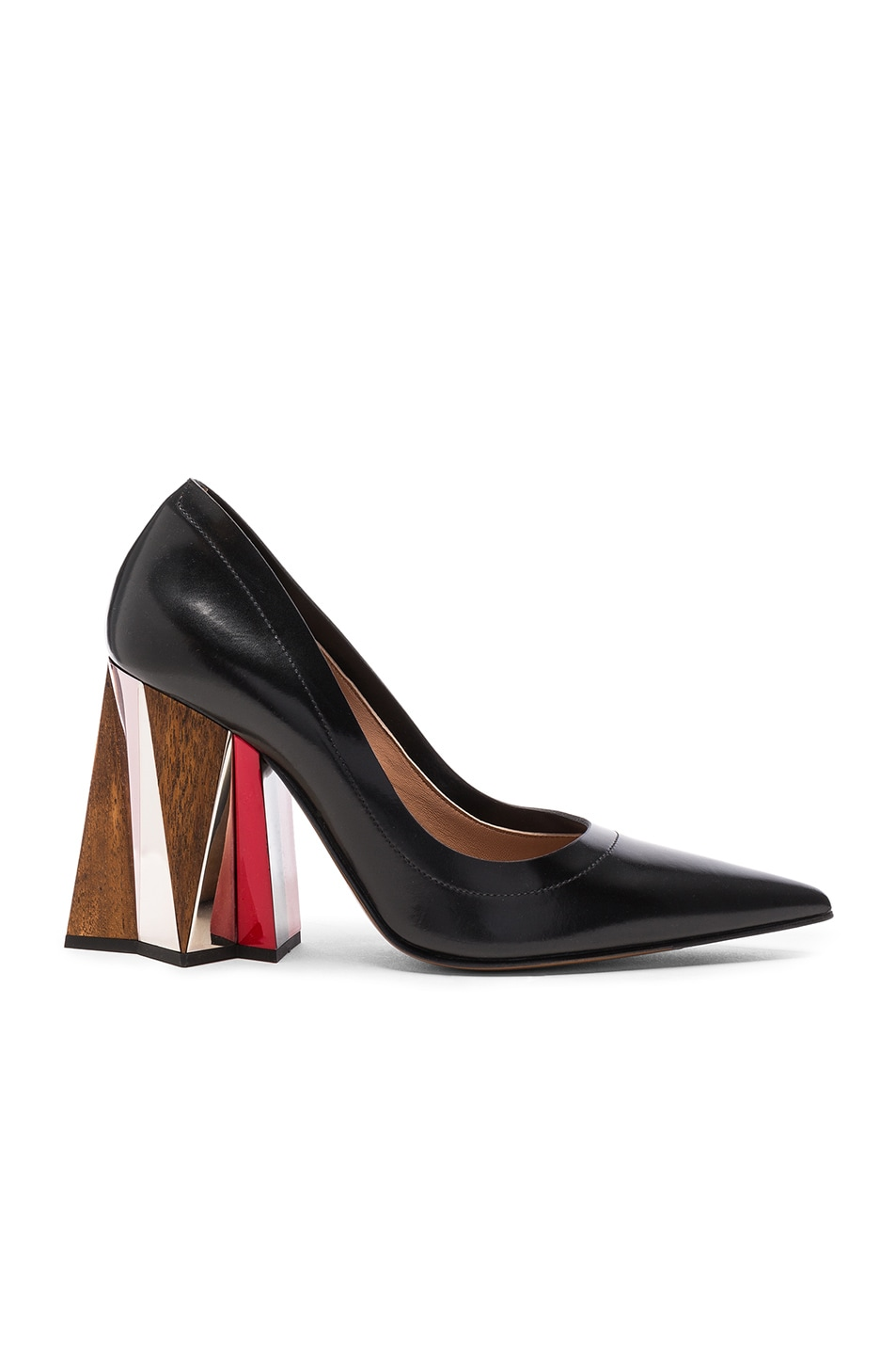 Image 1 of Marni Leather Pumps in Black