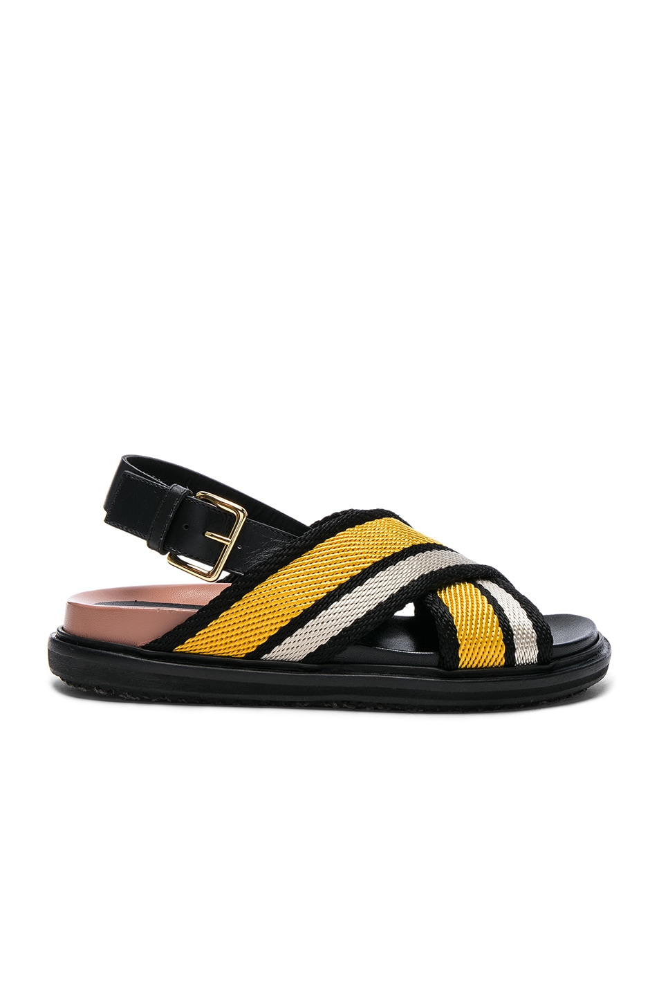Image 1 of Marni Fussbett Sandals in Sun