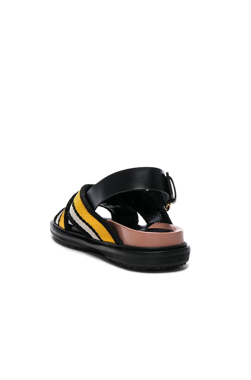 Image 3 of Marni Fussbett Sandals in Sun