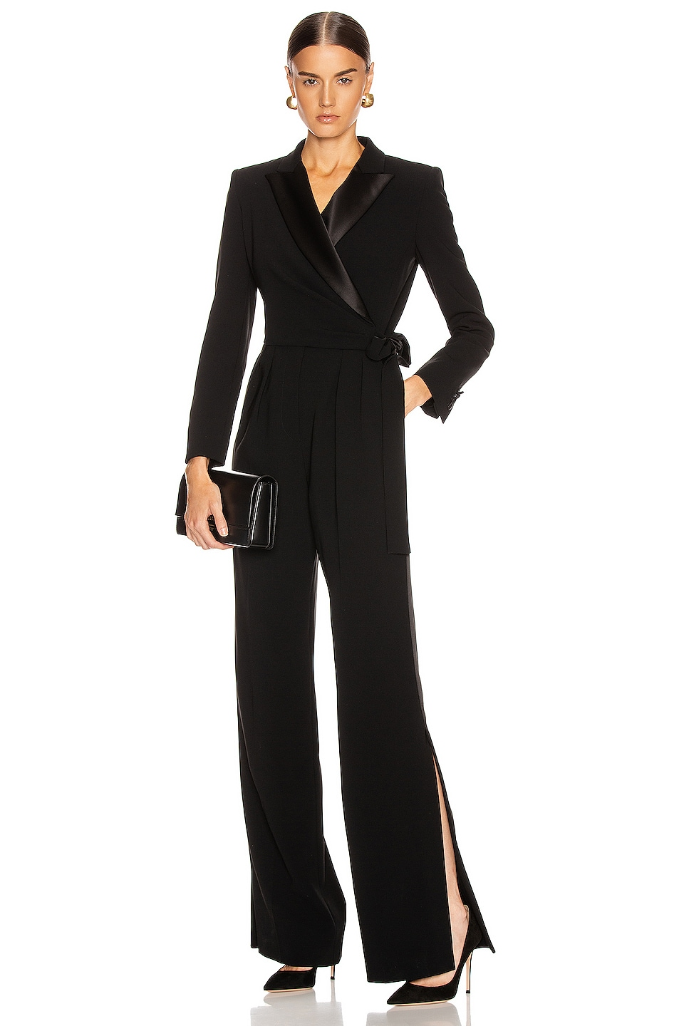 Image 1 of Max Mara Dover Jumpsuit in Black