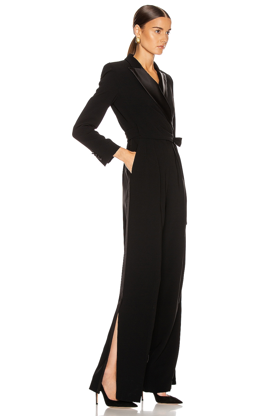 Image 2 of Max Mara Dover Jumpsuit in Black