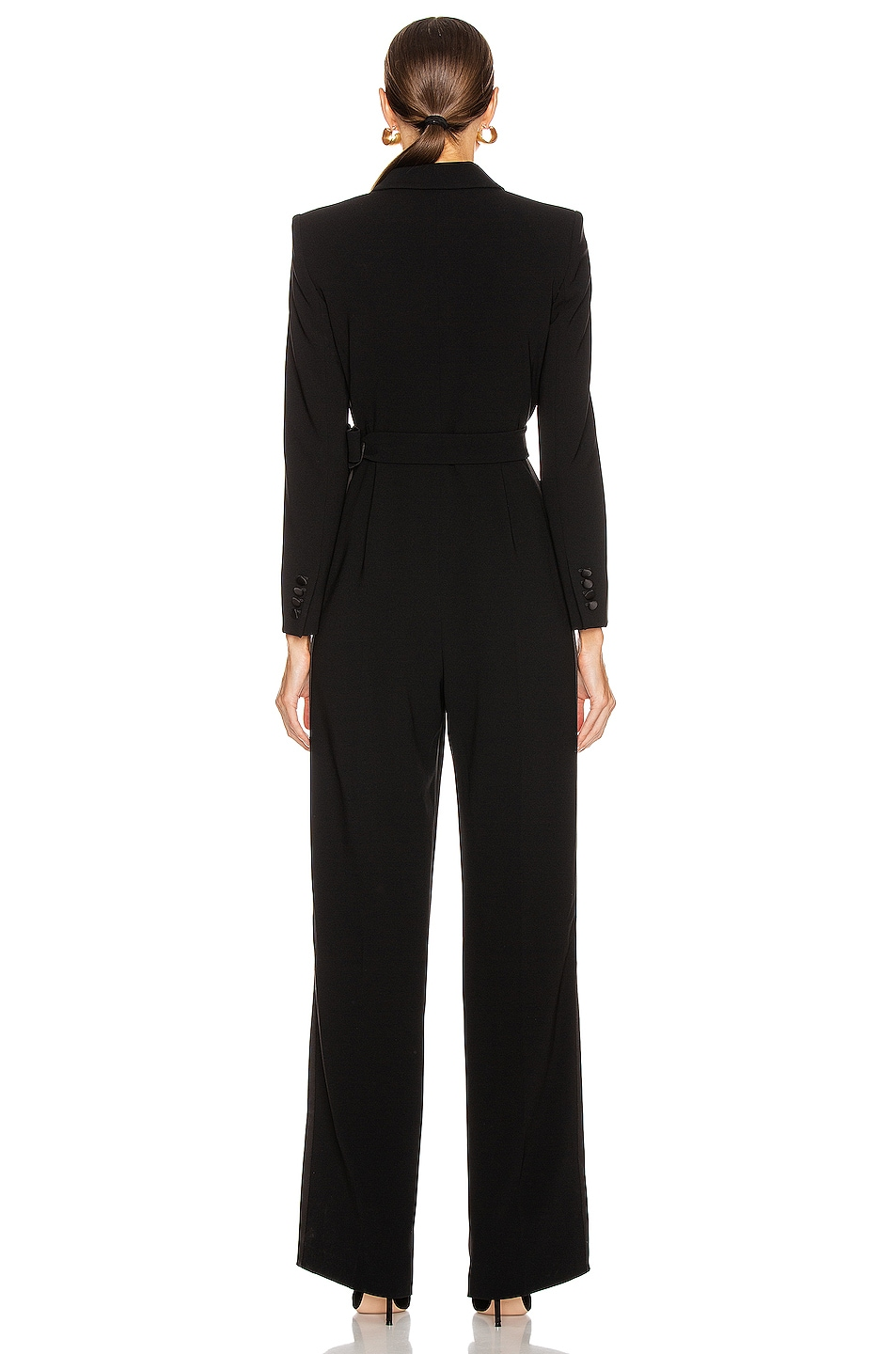 Image 3 of Max Mara Dover Jumpsuit in Black