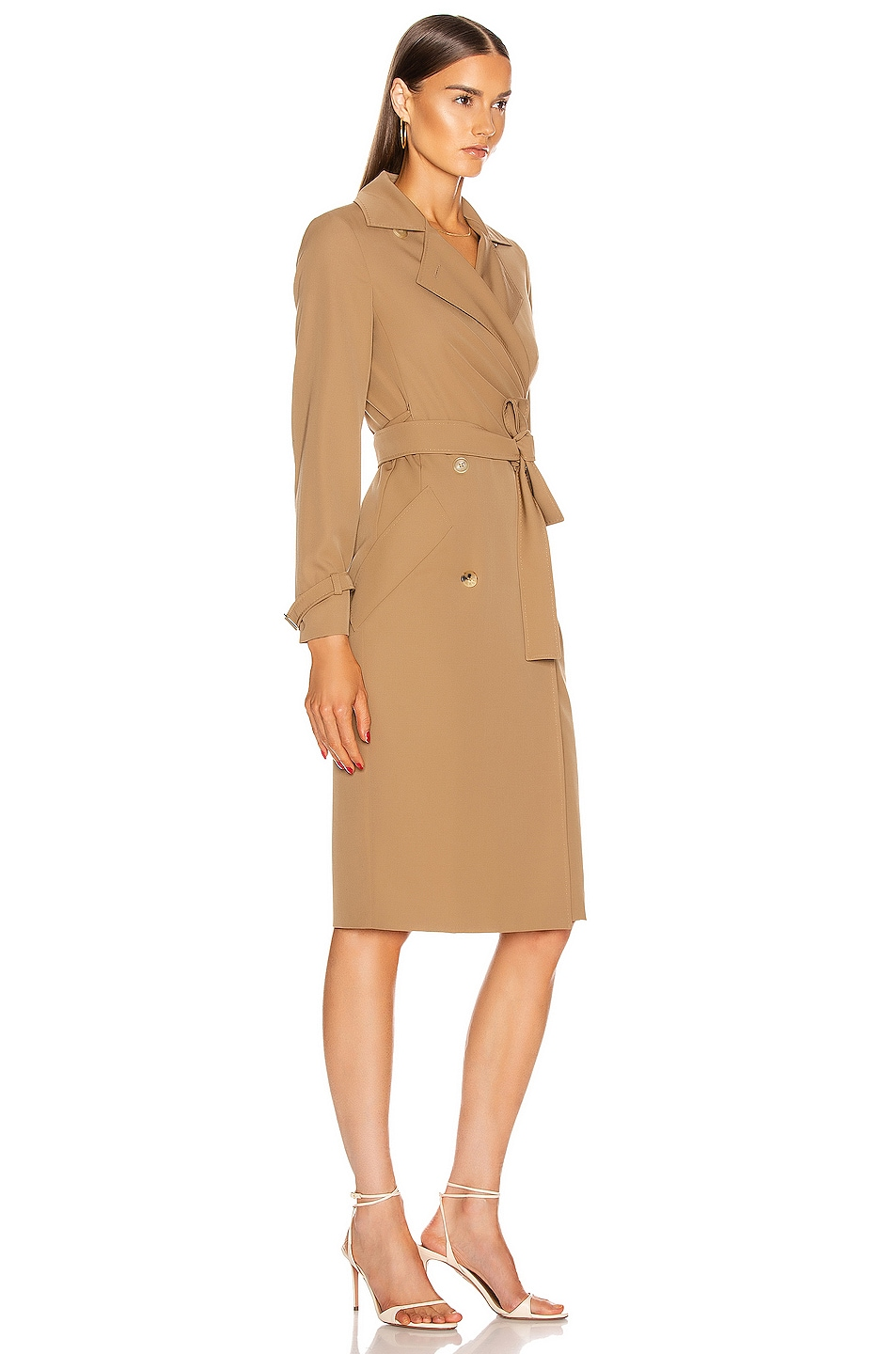 Image 2 of Max Mara Lucia Dress in Camel