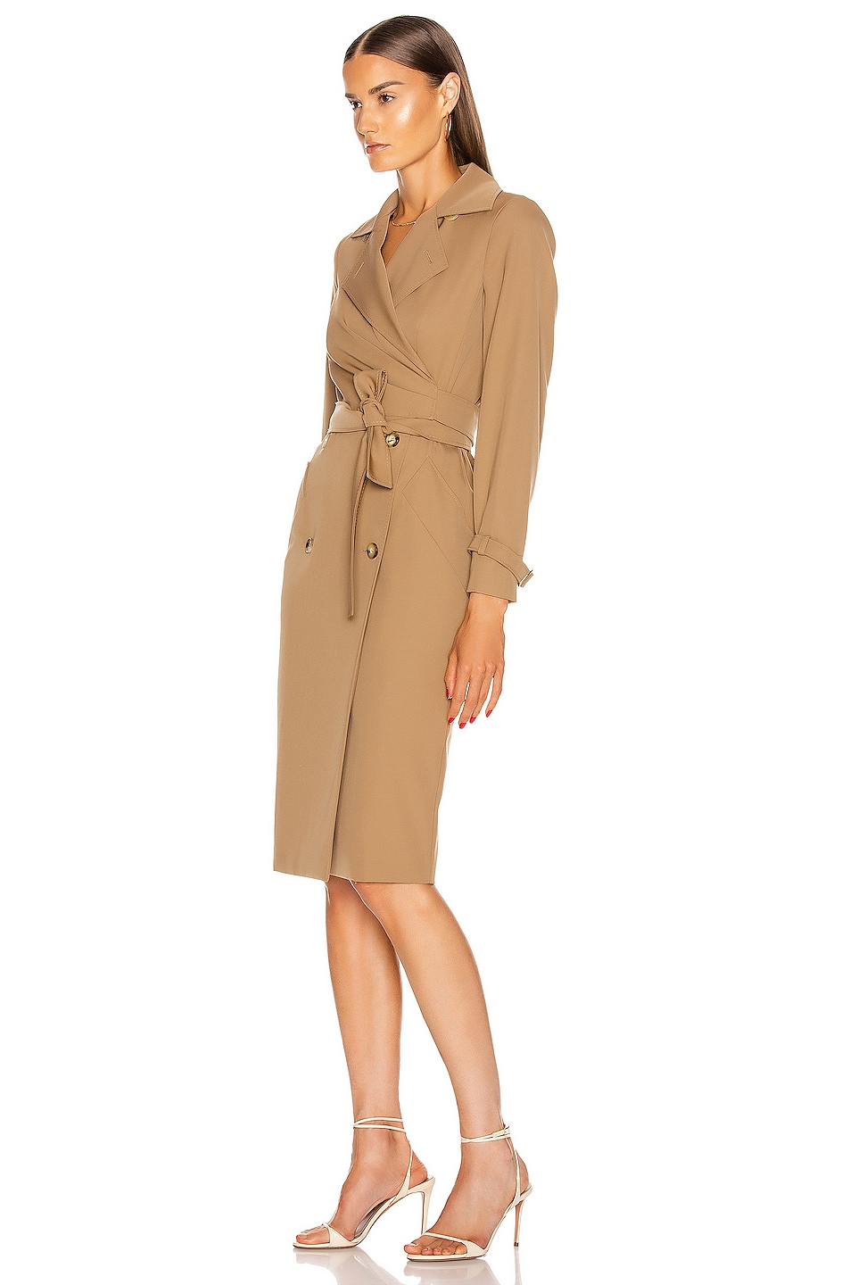 Image 3 of Max Mara Lucia Dress in Camel