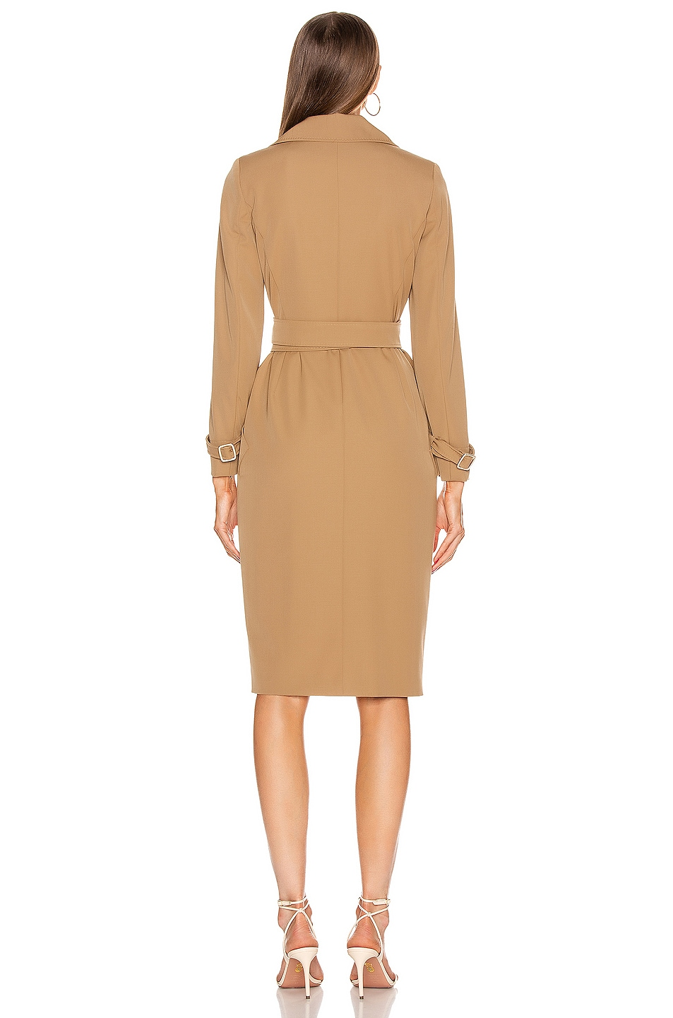 Image 4 of Max Mara Lucia Dress in Camel
