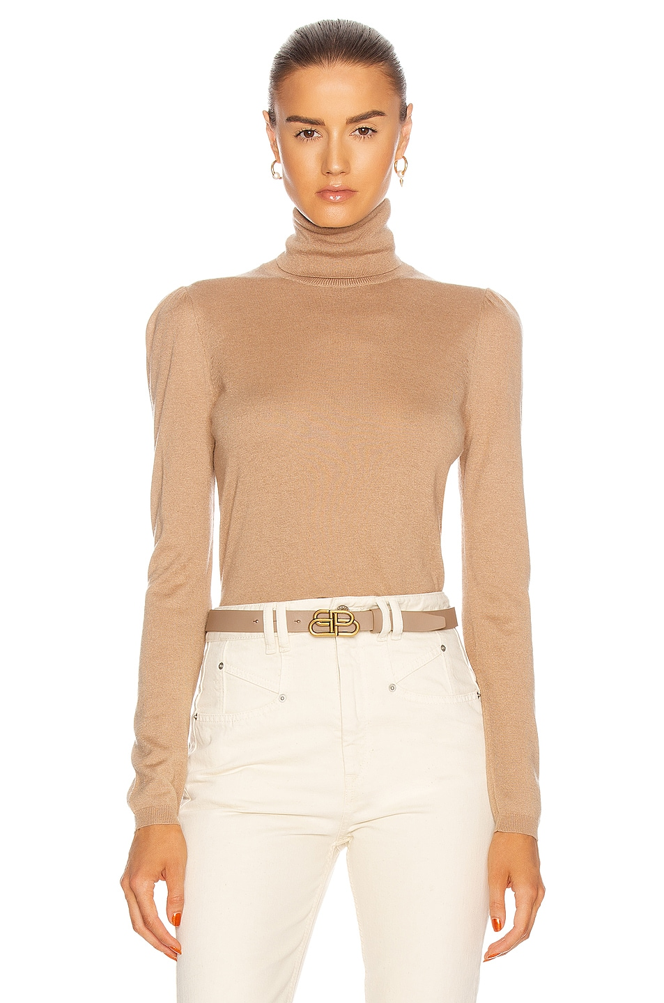 Image 1 of Max Mara Laura Sweater in Camel