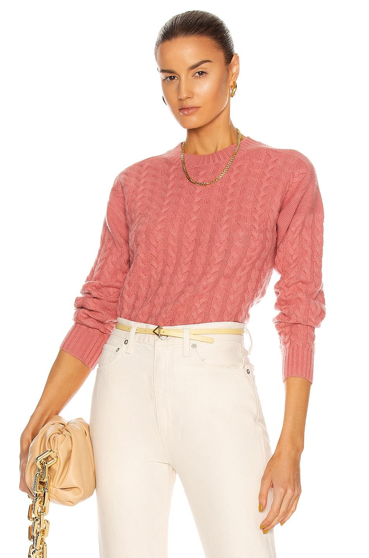 Image 1 of Max Mara Breda Cashmere Sweater in Pink